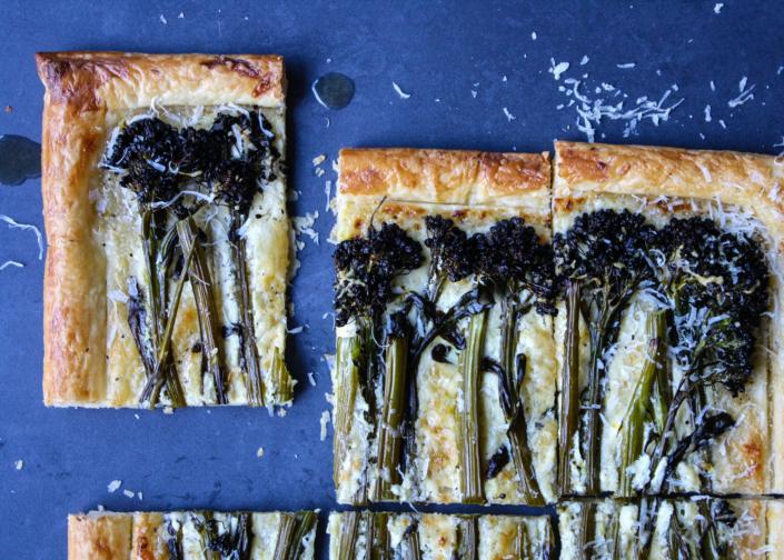 Asparagus & Broccolini Tart