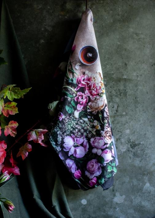 Tea & Blooms tea towel