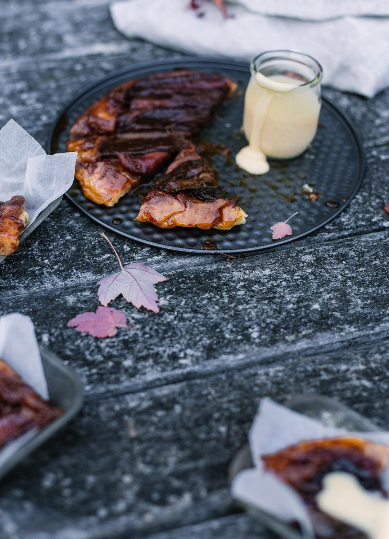 Tilly's Table - Rhubarb Tarte Tatin