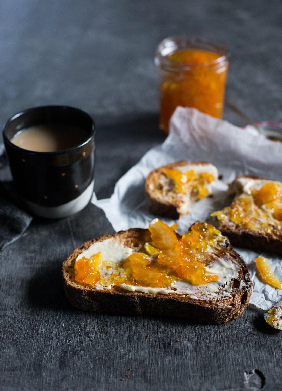 Cumquat and blood orange marmalade