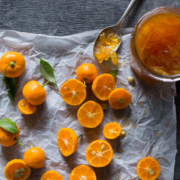 Cumquat and blood orange marmalade